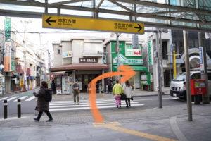 東京メトロ丸の内線中野新橋駅の入り口